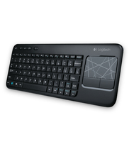 Logitech K400 RF Wireless QWERTY Inglese Nero tastiera