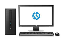 HP ProDesk DESKTOP BUNDEL (E4Z60ET+D7Q14AT) 600 TWR Core i3-4130 + Z22i monitor 3.4GHz i3-4130 Torre Nero PC