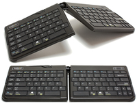 Goldtouch GTP-0044W Bluetooth QWERTY Inglese Nero tastiera