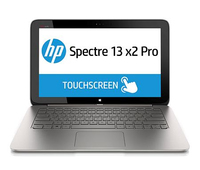 "HP Spectre 13 13 x2 Pro 1.6GHz i5-4202Y 13.3"" 1920 x 1080Pixel Touch screen 4G Argento, Marrone Computer portatile"