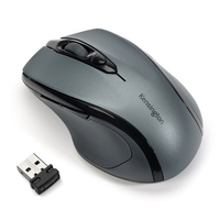 Kensington Pro Fit Mid-Size Wireless RF Wireless Ottico 1750DPI Mano destra Grigio mouse