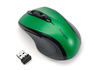 Kensington Pro Fit Mid-Size Wireless RF Wireless Ottico 1750DPI Mano destra Verde mouse