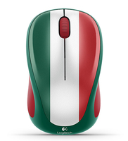 Logitech M317 RF Wireless Ottico Multicolore mouse