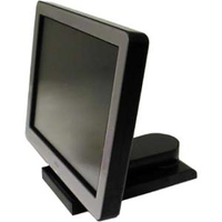 "Fujitsu Displays D25 15"" Nero monitor piatto per PC"