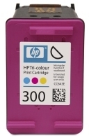 HP 300 Tri-colour Ink Cartridge Ciano, Giallo cartuccia d