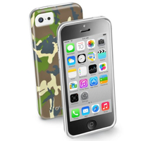 Cellularline ARMYCIPH5CG Cover Multicolore custodia per cellulare