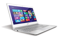 "Acer Aspire 392-74508G25twss 1.8GHz i7-4500U 13.3"" 2560 x 1440Pixel Touch screen Bianco Computer portatile"