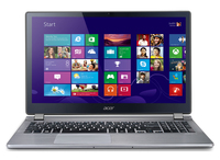 "Acer Aspire 552PG-10578G1Taii 2.5GHz A10-5757M 15.6"" 1366 x 768Pixel Touch screen Grigio Computer portatile"