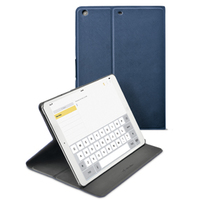 "Cellularline FOLIOIPAD5B 9.7"" Custodia a libro Blu custodia per tablet"