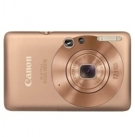"Canon Digital IXUS 100 IS Fotocamera compatta 12.1MP 1/2.3"" CCD 4000 x 3000Pixel Oro"