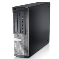 DELL OptiPlex 7010 3.4GHz i3-3240 Scrivania Nero PC