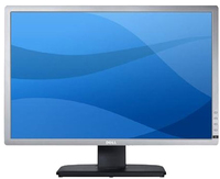 "DELL UltraSharp U2412M 24"" Full HD IPS Opaco Nero, Argento monitor piatto per PC"
