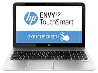 "HP ENVY TouchSmart 15-j102sf 2.4GHz i7-4700MQ 15.6"" 1366 x 768Pixel Touch screen Argento Computer portatile"