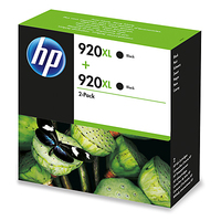HP 920XL 2-pack Nero cartuccia d