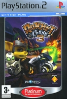 Sony Ratchet & Clank 3 (Platinum), PS2 PlayStation 2 videogioco