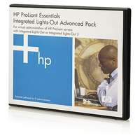 HP iLO Advanced including 1yr 24x7 Technical Support and Updates Electronic License