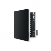 Logitech Keyboard Folio Custodia a libro Nero