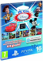 Sony PS Vita Disney Mega Pack + 16GB