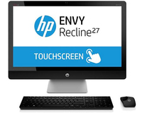 "HP ENVY Recline 27-k100ed TouchSmart 2.9GHz i5-4570T 27"" 1920 x 1080Pixel Touch screen Nero PC All-in-one"