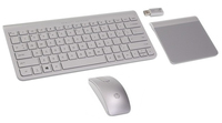 HP 694678-031 RF Wireless QWERTY Inglese UK Argento tastiera