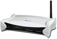 Digicom Pro V Fast Ethernet 3G Nero, Bianco router wireless