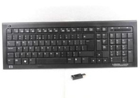 HP 579710-241 RF Wireless QWERTY Lucidante Nero tastiera