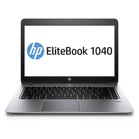 "HP EliteBook Folio NOTEBOOK BUNDEL (H5F67EA + C9V75AA) EliteBook 1040 Core i7-4600u + E231 monitor 2.1GHz i7-4600U 14"" 1920 x 1080Pixel 4G Argento Computer portatile"