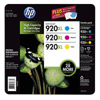 HP 920XL 3-pack Ciano, Giallo cartuccia d