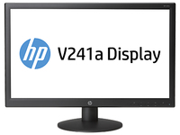 "HP V241a 23.6"" Full HD Nero monitor piatto per PC"