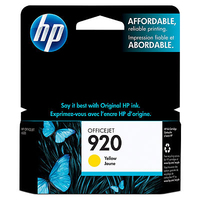 HP 920 Yellow Giallo cartuccia d