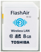 Toshiba 8GB FlashAir 8GB SD Classe 10 memoria flash