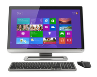"Toshiba PX30t-01K 2.6GHz i5-3230M 23"" 1920 x 1080Pixel Touch screen Nero, Metallico All-in-One workstation"