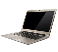 "Acer Aspire 371-323c4G32add 1.5GHz i3-2375M 13.3"" 1366 x 768Pixel Oro Computer portatile"