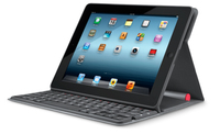 Logitech Solar Keyboard Folio USB QWERTY Inglese Nero tastiera per dispositivo mobile