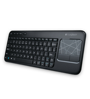 Logitech K400 RF Wireless Ucraino Nero tastiera