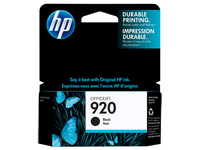HP 920 Black Nero cartuccia d