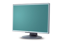 "Fujitsu Displays Scaleoview L19-1W 19"" LCD Grigio monitor piatto per PC"