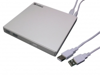 Sandberg USB DVD Mini Reader (white)