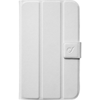 "Cellularline FOLIOGTAB3T210W 7"" Cover Bianco custodia per tablet"