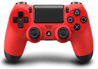 Sony DualShock 4 Gamepad PlayStation 4 Nero, Rosso