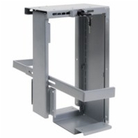Backshop 10032302 Desk-mounted CPU holder Argento supporto per CPU