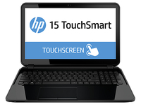 "HP 15-d002tu TouchSmart 2.4GHz i3-3110M 15.6"" 1366 x 768Pixel Touch screen Nero Computer portatile"