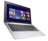 "ASUS Transformer Book TX201LA-CQ012P 1.8GHz i7-4500U 11.6"" 1920 x 1080Pixel Touch screen Argento Ibrido (2 in 1)"