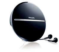Philips EXP2546/17 Nero, Argento CD player