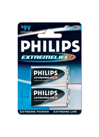 Philips ExtremeLife Batteria 9VEB2A/10