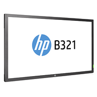HP B321 31.5-inch LED Digital Signage Display (ENERGY STAR) monitor piatto per PC