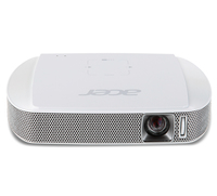 Acer Travel C205+Warranty Ext 3Y Carry-In Proiettore portatile 150ANSI lumen DLP WVGA (854x480) Bianco videoproiettore