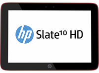 HP Slate 10 HD 3604el 16GB 3G Rosso tablet