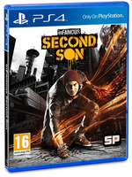 Sony inFamous Second Son, PS4 PlayStation 4 videogioco