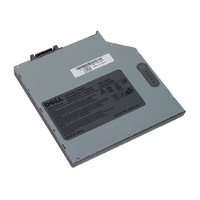 DELL Mediabay battery 6cell f/ Latitude D620/D630/D630ATG/D631 Ioni di Litio batteria ricaricabile